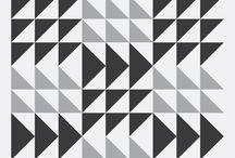 Patrones - patterns / Inspiración de figuras geométricas