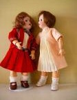 Dolls, dolls, and more dolls! / I love antique dolls. I love the history of them and the artistry of them. I love to display them, sew for them, repair them and show them off. They are a window into the past. Each dolly has a story.  / by FrenchShabbyEssentials
