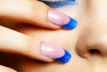 Blue Makeup / This curated pinterest board features the most fabulous blue makeup:  blue eyeshadow, blue nail polish, blue lipstick!
