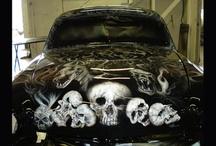 car airbrushing