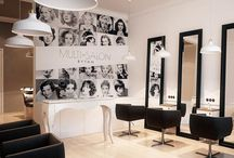 Salon Interiors / A Collection of Salon Interiors to inspire your own ideas!