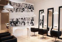 Beauty saloon design