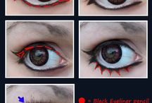Anime Augen make up♥