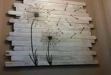 decoracion con tablas