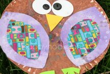 Owl paperplate