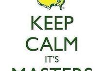 Masters / Golf tournament