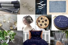 Wedding colour inspiration / A lots of blue ♥
