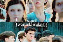 The Hunger Games series :) / by Jillian Carlile