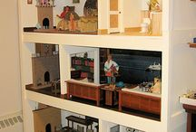 1:6 scale dollhouses