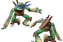 TMNT Teenage Mutant Ninja Turtle Party Ideas / Teenage Mutant Ninja Turtle Party Ideas