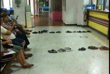Shoes in Line
