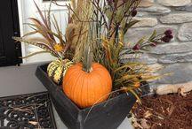 Jesenné dekorácie