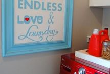 laundry room / by Heather Schoonover