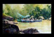 Guillaume Bonamy watercolor