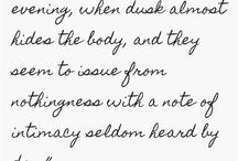 Virginia Wolf / Poetry
