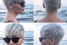 Hairstyle - Frizu rövid színes / Hairstyle - Frizu rövid színes