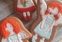 Печенье ангелы