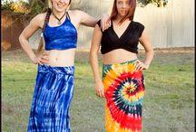 Tie-dye Skirts
