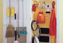 Closet - garage entry