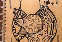 INKART / Unique notebooks illustrated