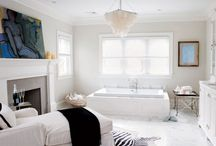 Bathroom Beauty / A tranquil bathroom takes the stress from your day. / by Gwendoline Alderton