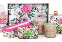 Charlize Loulou / Charlize Loulou offers Michel Design Works, Luxury bath, body products, hand soaps, creams and Luxury gift items.