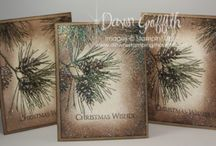 ornament pine stamp set