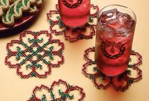 perle mønstre, coasters