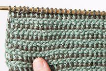 crochet doble punta