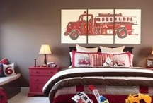 Zack's big boy bedroom / by Kristy Horrocks-Anderson