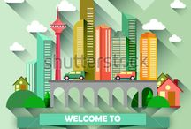 Landmark city vector illustration / http://www.shutterstock.com/portfolio/search.mhtml?gallery_landing=1&gallery_id=3810161&page=1&safesearch=1&sort_method=popular
