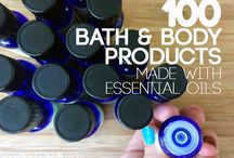 Bath & Body Products / Recipes for homemade bath and body products