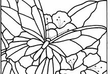 Butterfly&Dragonfly outline
