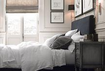 Sypialnia   Bedroom / Inspiracje - osłony okienne do sypialni - http://sklepzoslonami.pl/