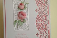 Card making / Joanna sheen border card