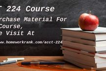 ACCT 224 Study Materials For DeVry University