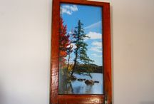 Windows to the Adirondacks / Windows allows you to see the beauty of a new day.  These windows were created as a reminder of the beauty the Adirondack Mountains hold.  Placed in your home or office, a window will give you the opportunity to always see a beautiful view.