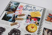 Workbooks/visual dairies