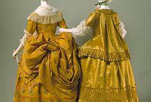 1730-1750 Dresses
