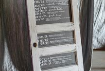 Signs + Numbers / Wedding signage and table numbers