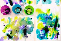 Creative Paint Projects / Painting activities for kids using tempera paint, watercolors, finger paints, acrylic paint, homemade paint recipes, and more!