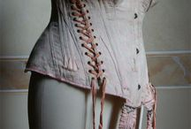 Corsets: Side & Decorative Lacing Detail