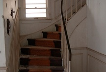 Stairs in abandonments