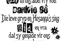 Afrikaans words and sayings
