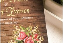 Rustic weddings invitations