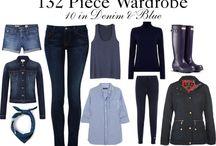 132 piece wardrobe