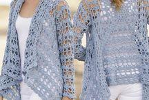 vestuário croche