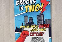 superhero party ideas / by Marilyn Audsley