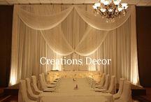 Wedding backdrop / by Hailey Ha
