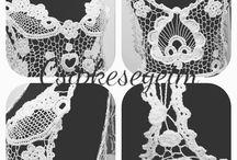 Csipkesegeim / Made by Erika Kiraly. Knitting. Crochet. Lace. .... Hand Made.